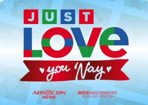 Just Love You Nay logo blue background