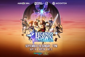 """Mobile Legends' """"Legends of Dawn: The Sacred Stone"""" airs on Kapamilya Channel, A2Z on September 19"""