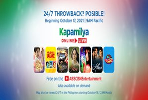 Classic ABS-CBN TV series and exclusive YouTube shows now available overseas 24/7 on ABS-CBN Entertainment YouTube channel