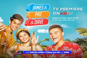 "Ronnie and Loisa's ""James and Pat and Dave,"" premieres on KBO this Holy Week"