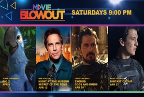 """Movie Central features kiddie favorites """"Rio 2"""" """"Night at the Museum"""" sequel"""