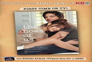 "Philippines' highest grossing film ""The Hows of Us"" premieres on KBO"