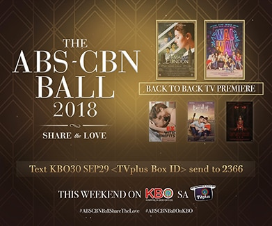 ABS-CBN Ball airs on KBO