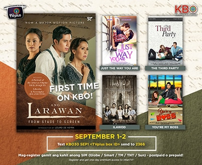 Paulo Avelino featured in KBO this weekend