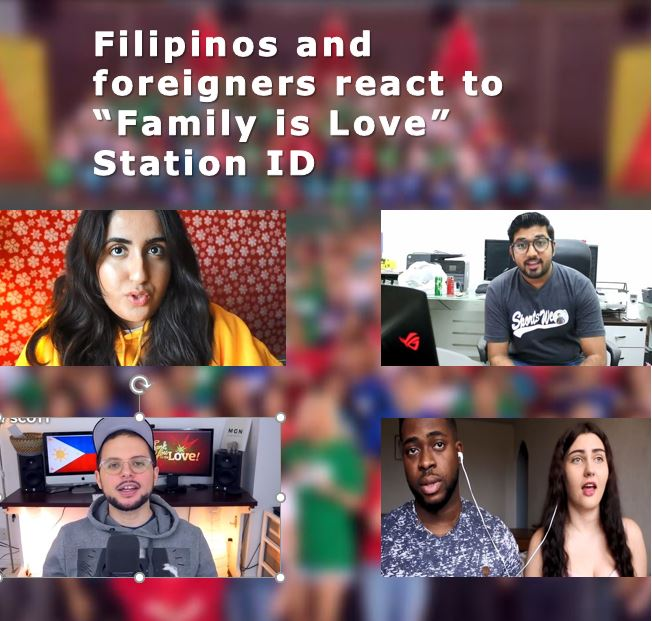 "YouTube vloggers touched by ""Family Is Love"" Station ID"