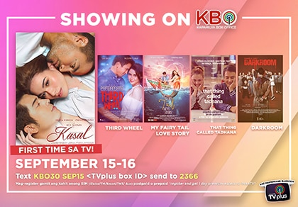 "Bea, Paulo, and Derek's ""Kasal"" premieres on KBO"