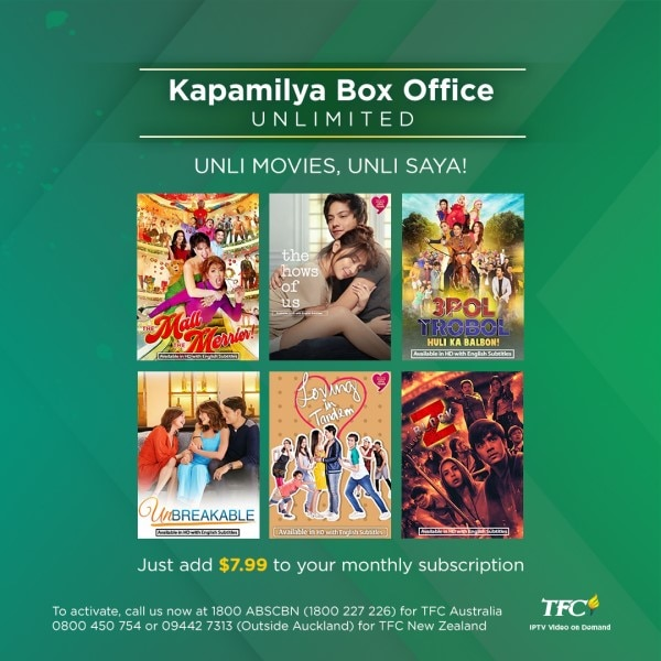 Filipino movies anytime, anywhere with Kapamilya Box Office (KBO) Unlimited