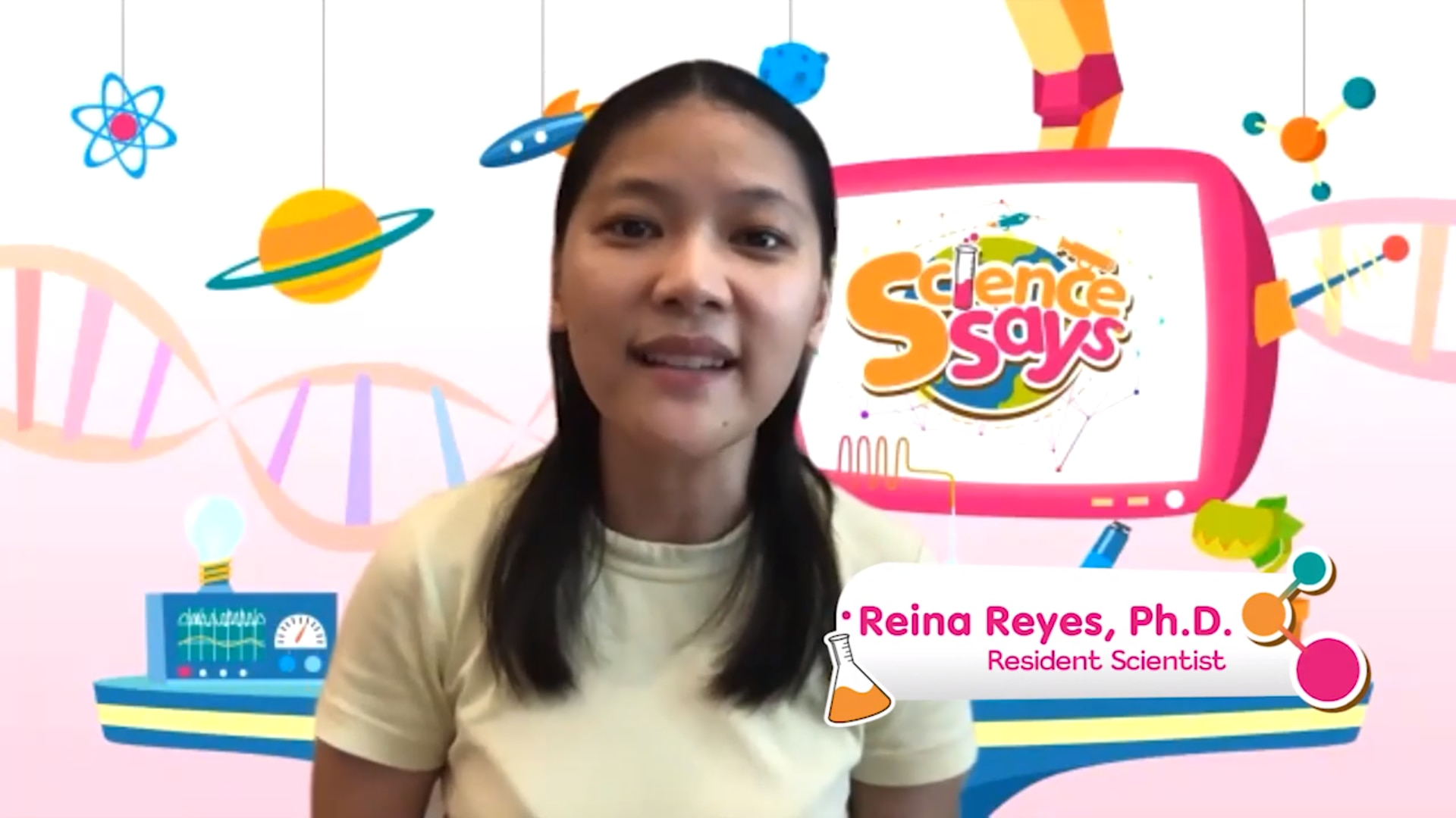 Science Says with Dr  Reina Reyes