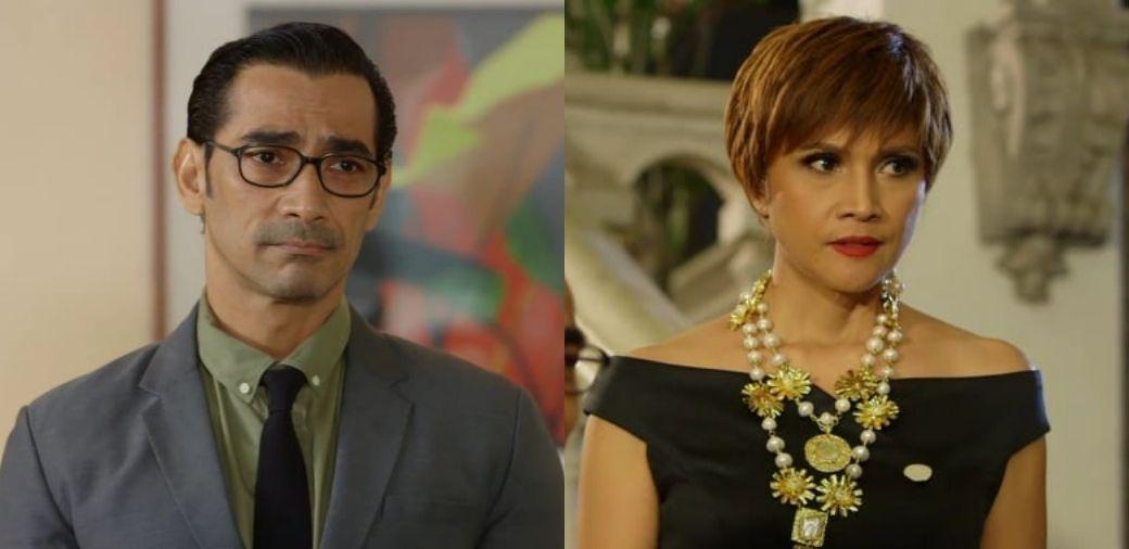 Lukas and Vanessa (Raymond Bagatsing and Agot Isidro) in La Vida Lena