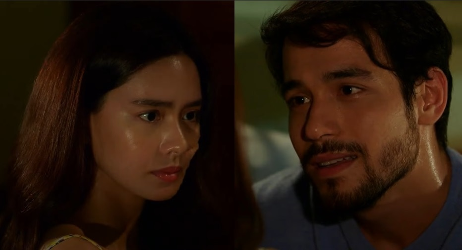 Magda and Miguel (Erich Gonzales and Kit Thompson) share an intimate night in La Vida Lena 2