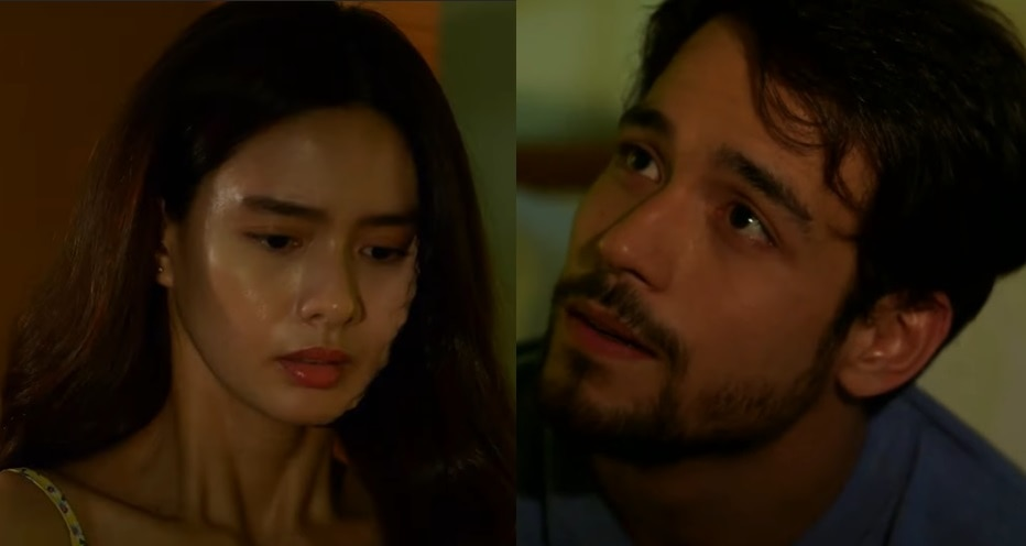 Magda and Miguel (Erich Gonzales and Kit Thompson) share an intimate night in La Vida Lena