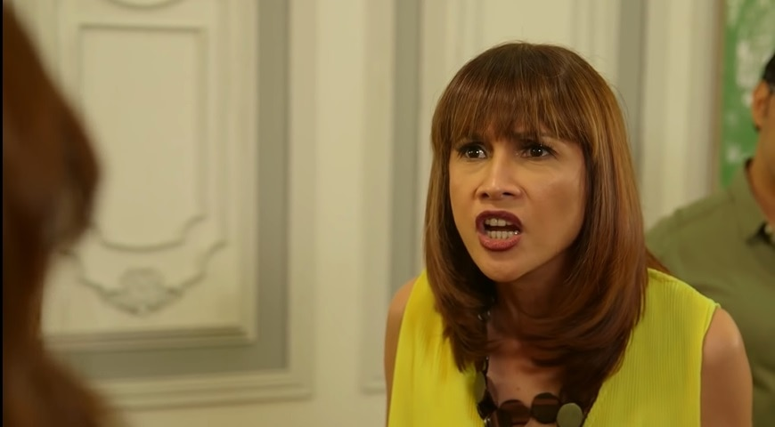 Vanessa (Agot Isidro) is shocked to the core upon learning that Lena is Magda (2)