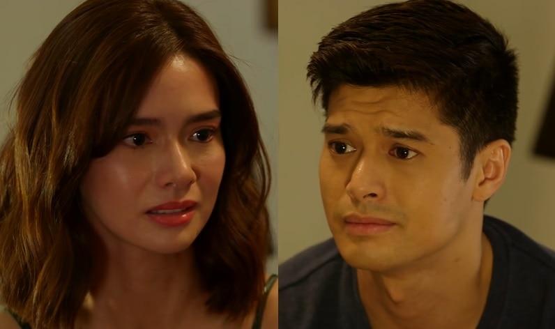 Adrian (JC) tells Lena) (Erich) that he loves her in La Vida Lena (3)