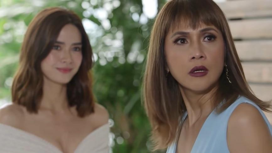 Lena (Erich Gonzales) and Vanessa (Agot Isidro)