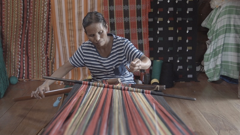Weavings of Kalinga will be highlighted in an episode of Local Legends