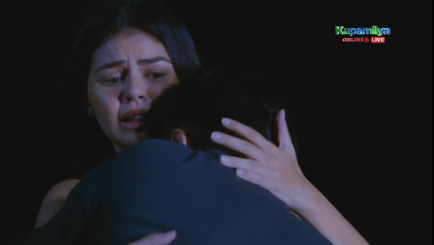 Camille (Janine Gutierrez) takes care of a drunk Andrei (Paulo Avelino) (2)