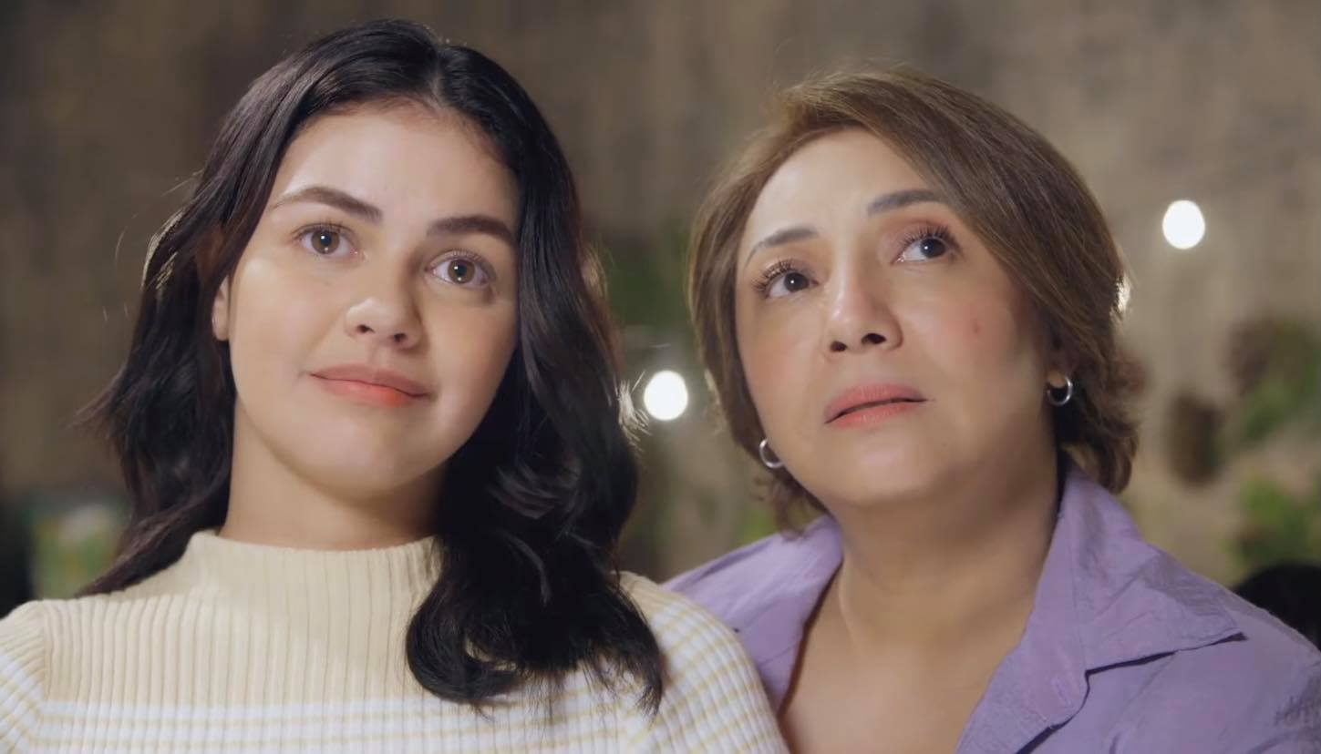 Camille with her ninang Elvie (Janine Gutierrez and Cherry Pie Picache) in Marry Me, Marry You