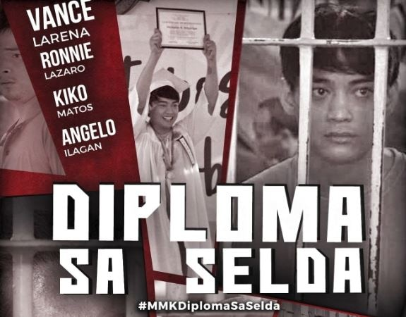 "Vance Larena graduates with top honors inside prison on ""MMK"""