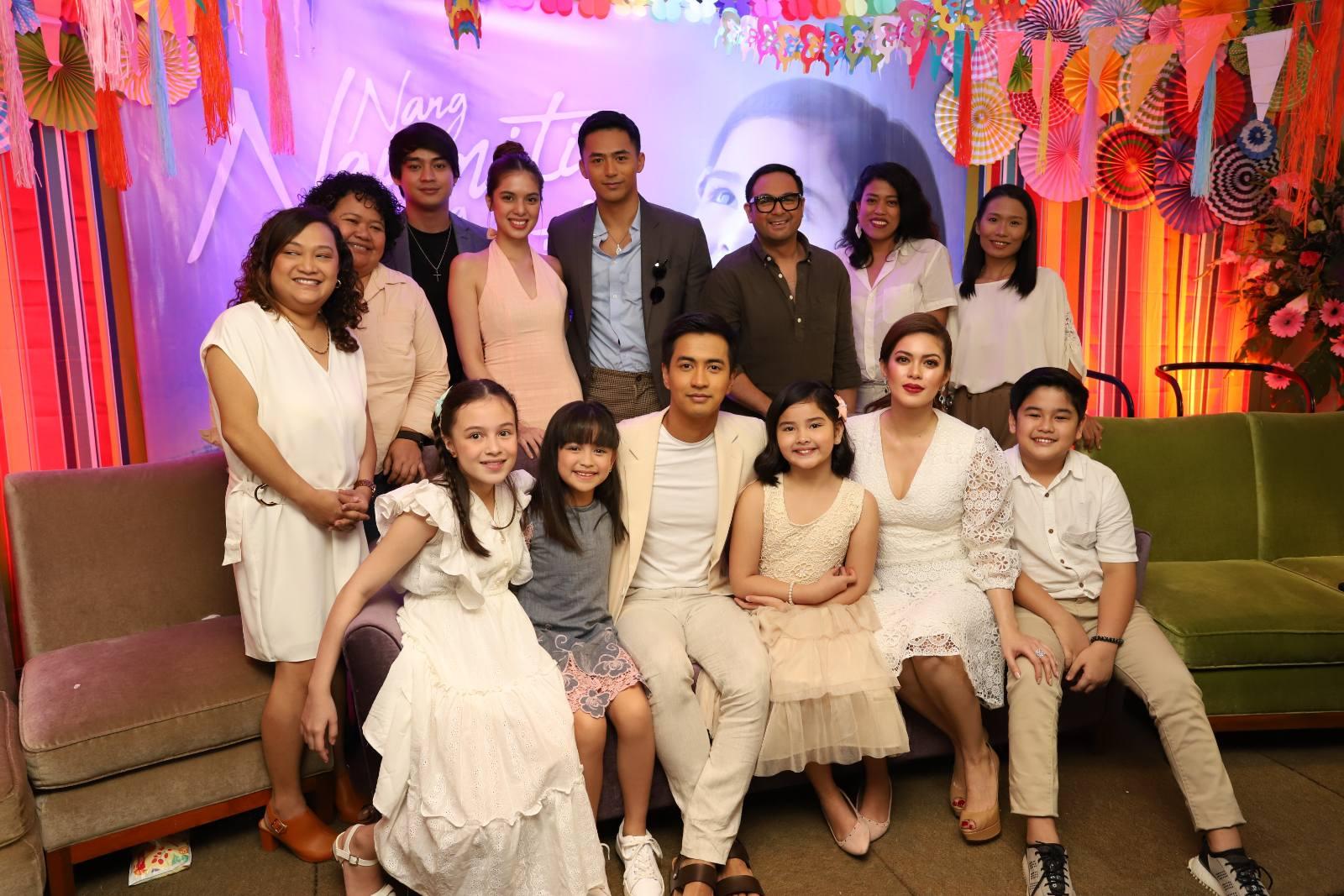 The lead cast of 'Nang Ngumiti ang Langit'