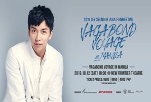 Lee Seung Gi, all set to win Filipinos' hearts this Saturday