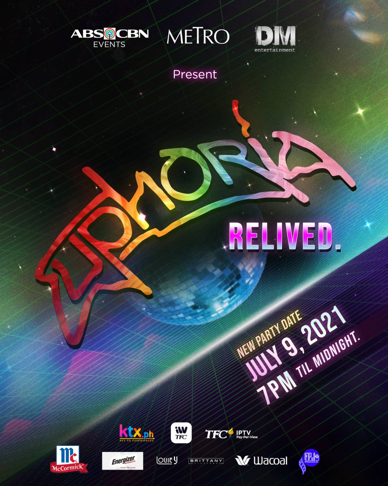 Euphoria Relived  July 9