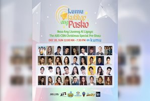"""ABS-CBN Christmas Special pre-show on Kumu """"Kumukutitap ang Pasko"""" gathers 100 stars for a cause"""