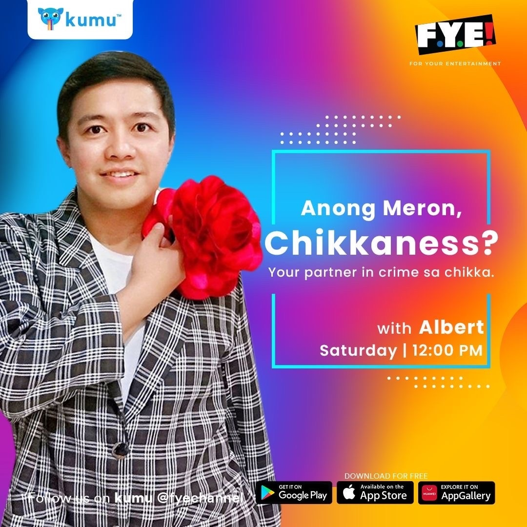 New show Anong Meron, Chikkaness hosted by Albert Abelido