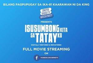 "Jeepney TV streams FPJ-Juday starrer ""Isusumbong Kita Sa Tatay Ko"" on Facebook"