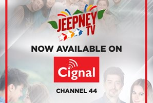 Jeepney TV now airing on Cignal