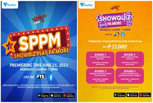 "Jeepney TV's new game show ""Showbiz Play Pa More"" streams on kumu"