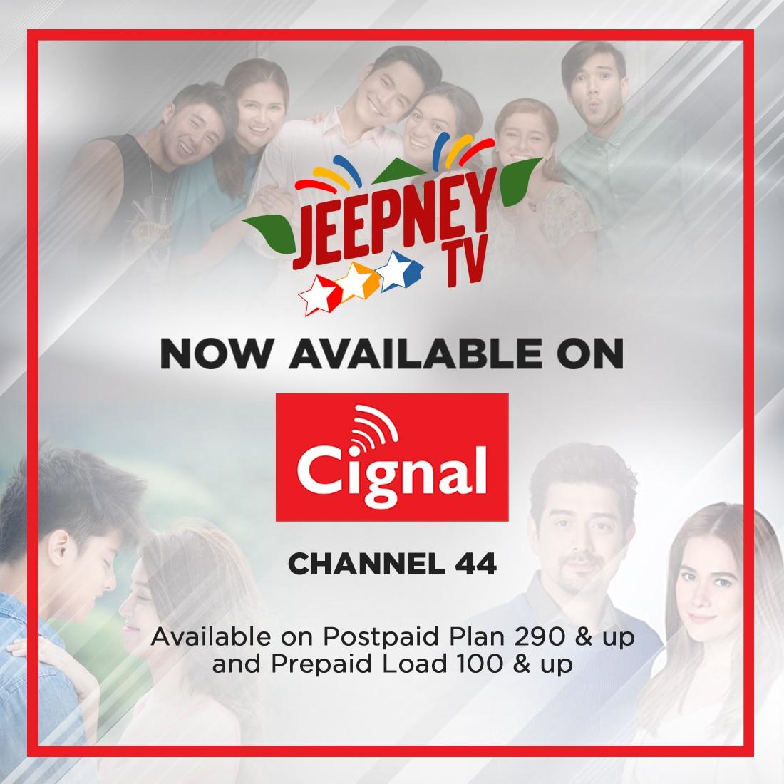 Jeepney TV on Cignal