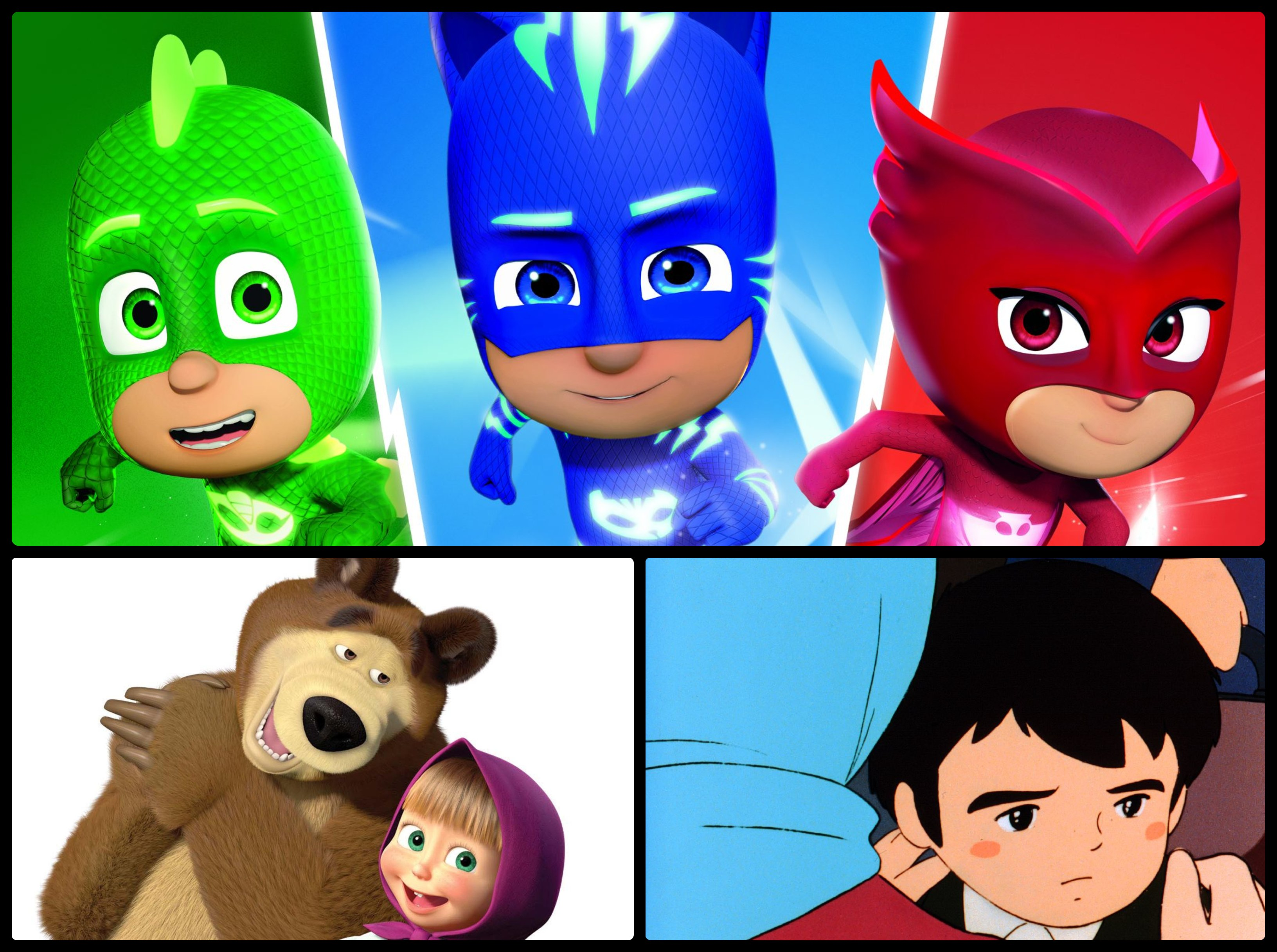 """Marco,"" ""Masha and the Bear,"" and ""PJ Masks"" premiere on A2Z this May"