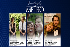 "Rekindle your lust for love with ""Movie Nights on Metro"""