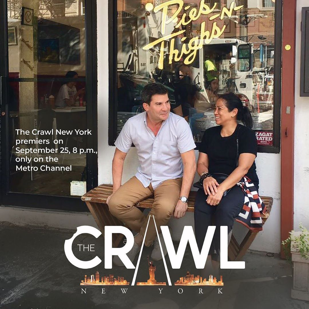 'The Crawl' with Chef Margarita Fores and Edu Manzano