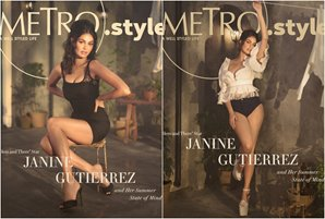 """Metro brings back """"Dito at Doon"""" actress Janine Gutierrez on the cover"""