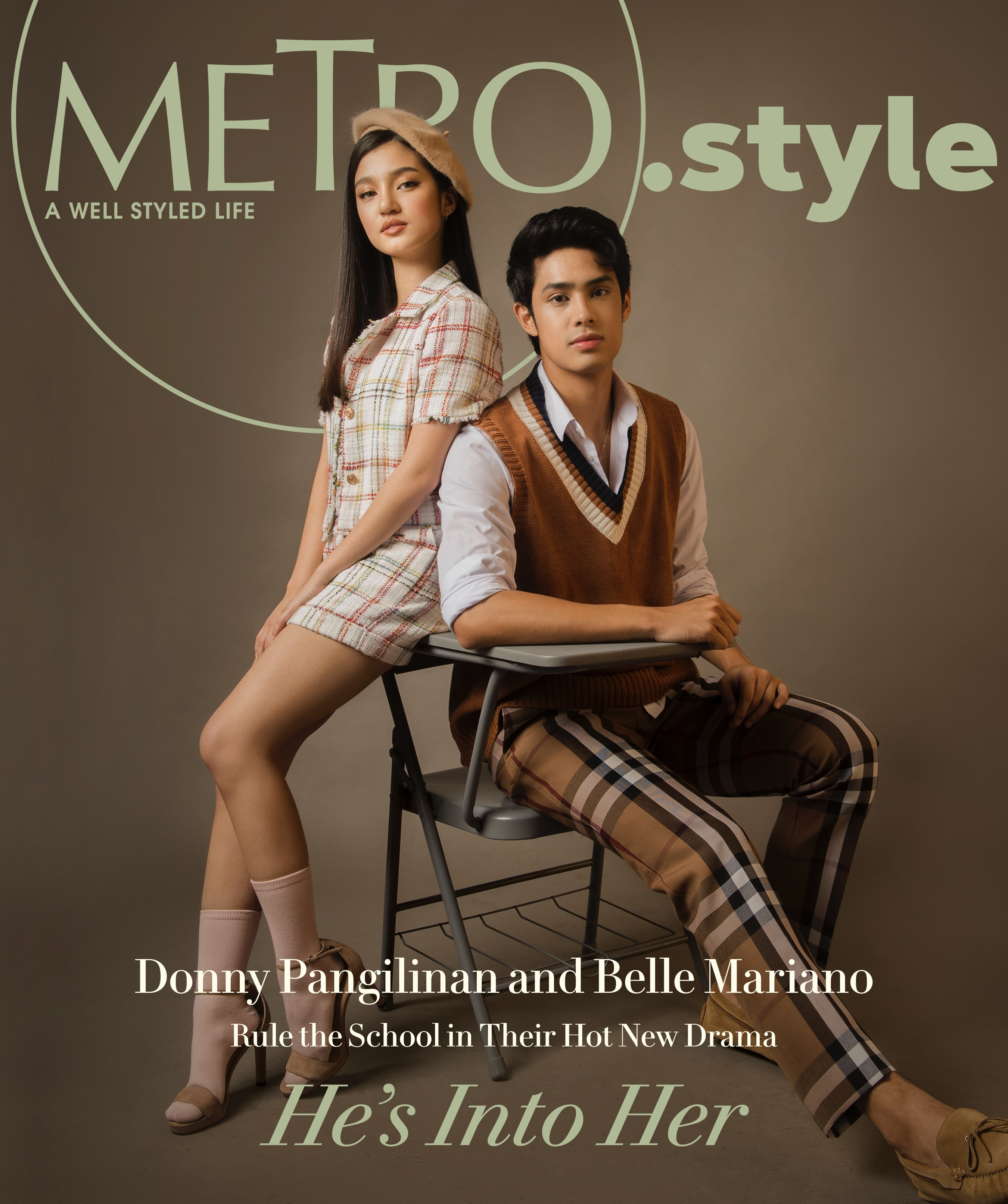 MetroStyle DonBelle Donny Pangilinan Belle Mariano Cover 1