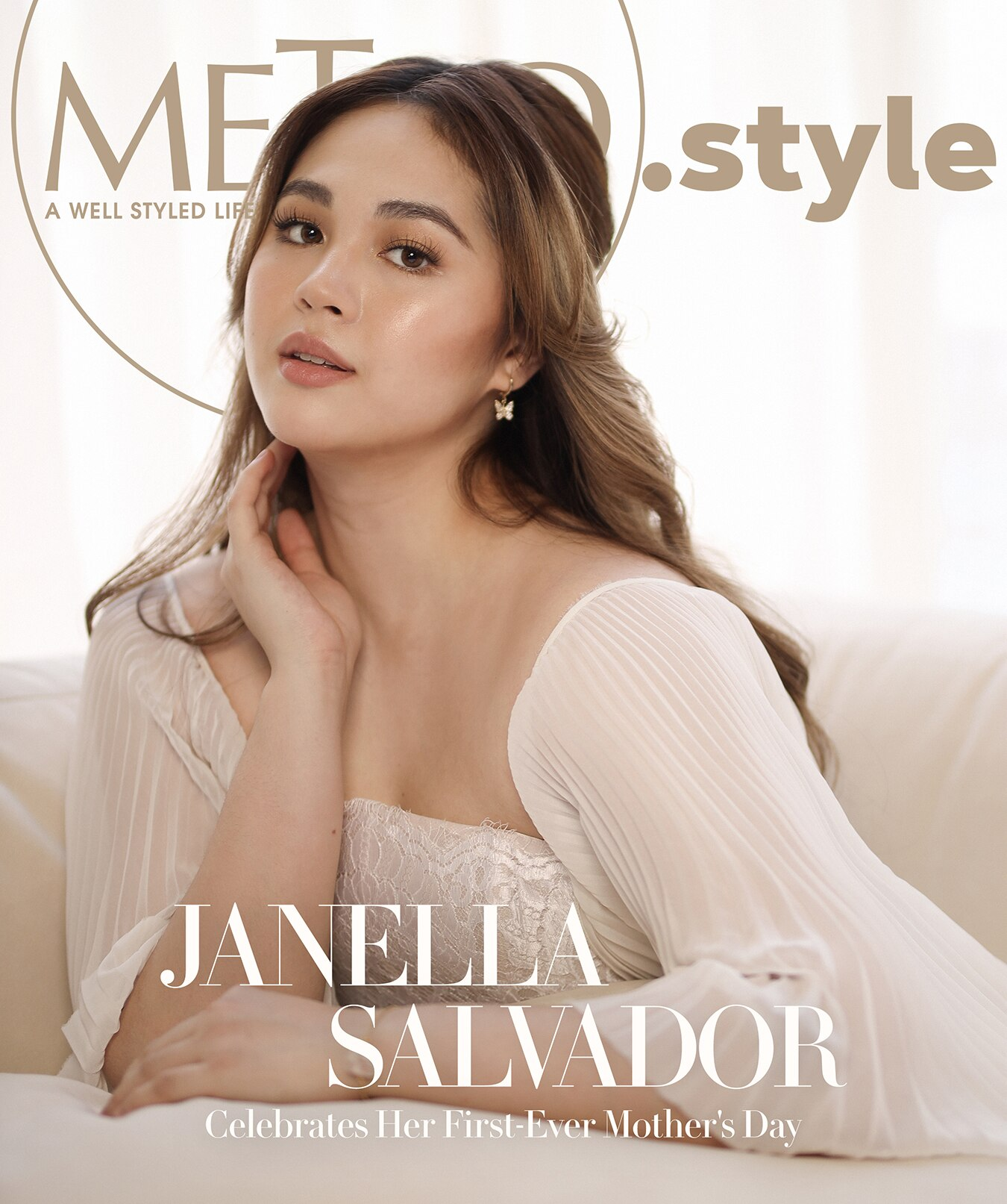 Janella Salvador on the cover of MetroStyle