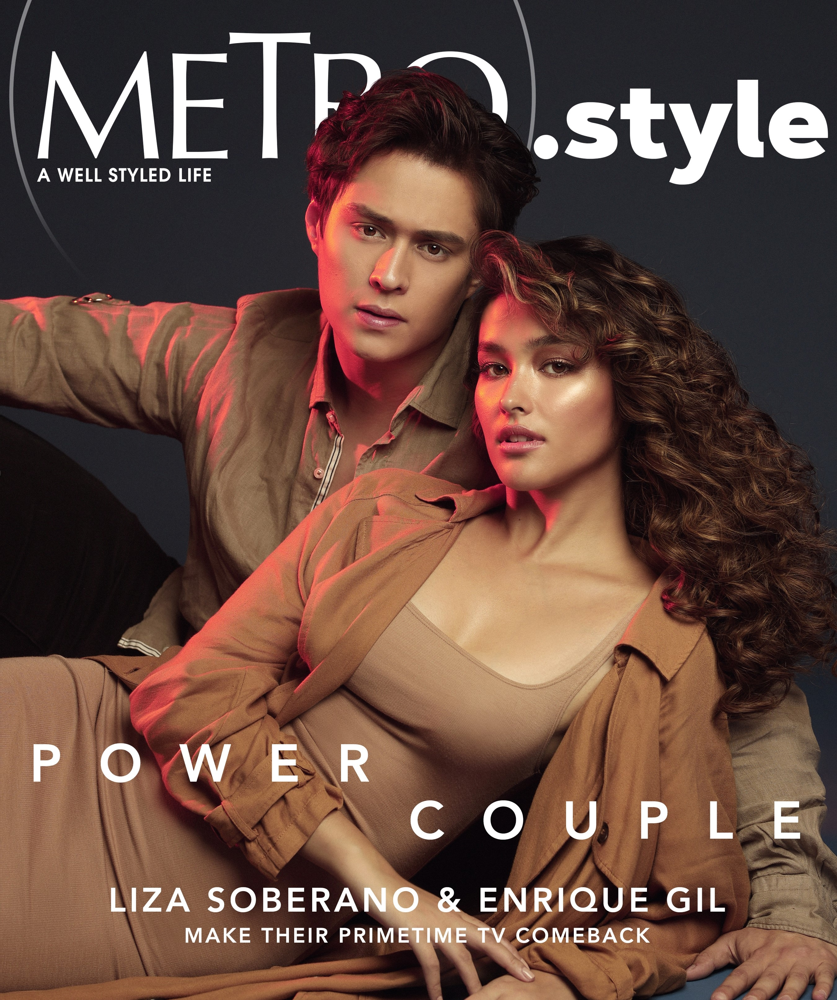 LizQuen returns on the cover of Metro (2)