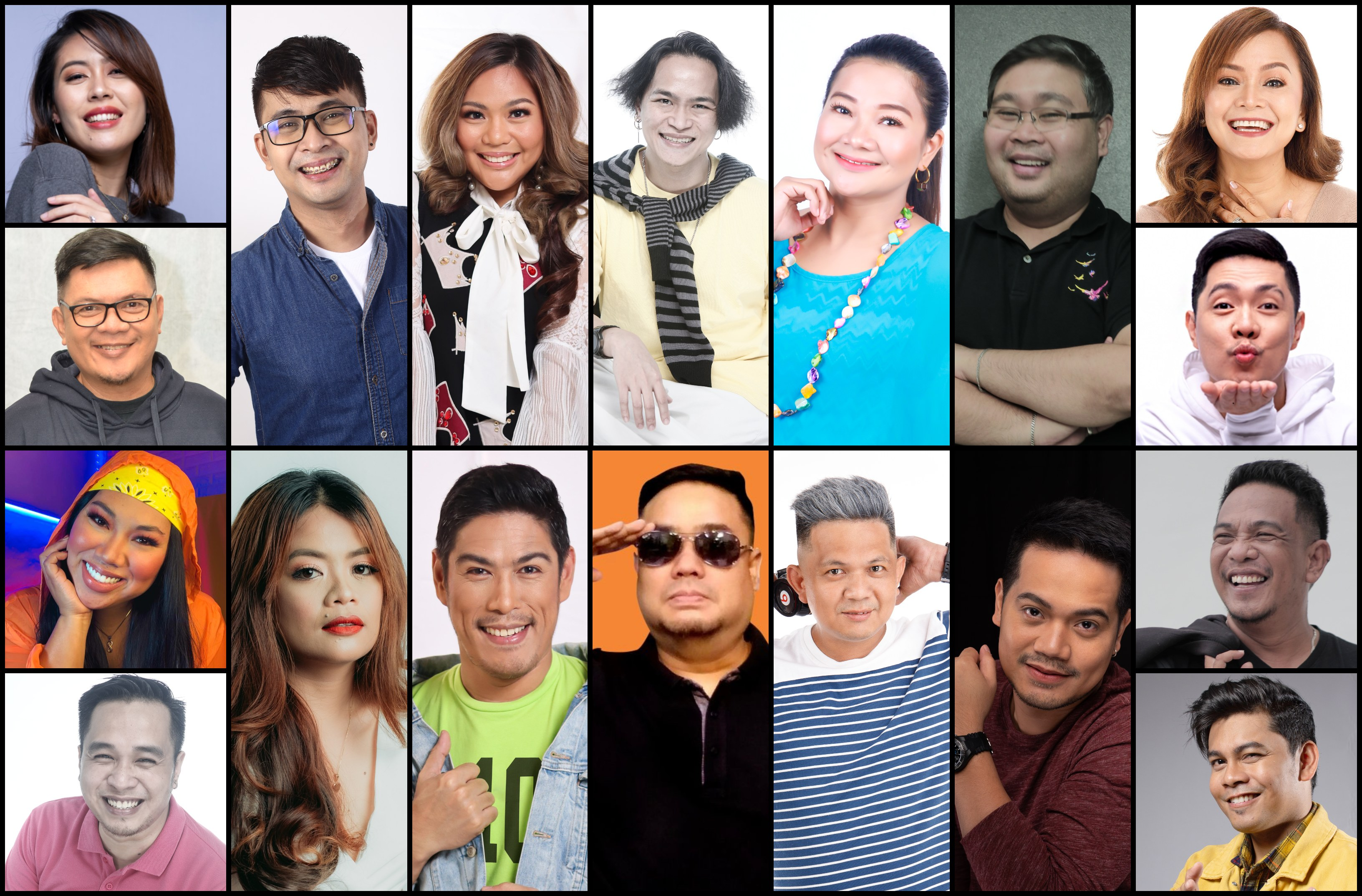 Kapamilya personalities across the Philippines unite to bring more online fun via MOR Entertainment