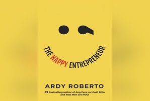 "Ardy Roberto's ""The Happy Entrepreneur"" gives readers a ray of hope"