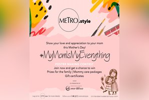 "Kids get to show their love in Metro.Style's ""My Mom Is My Everything"" promo"