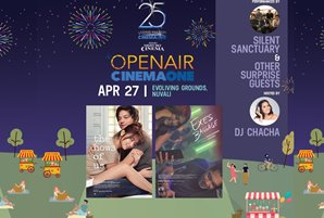 "OpenAir Cinema One brings ""Exes Baggage"" and ""The Hows of Us"" to Nuvali"