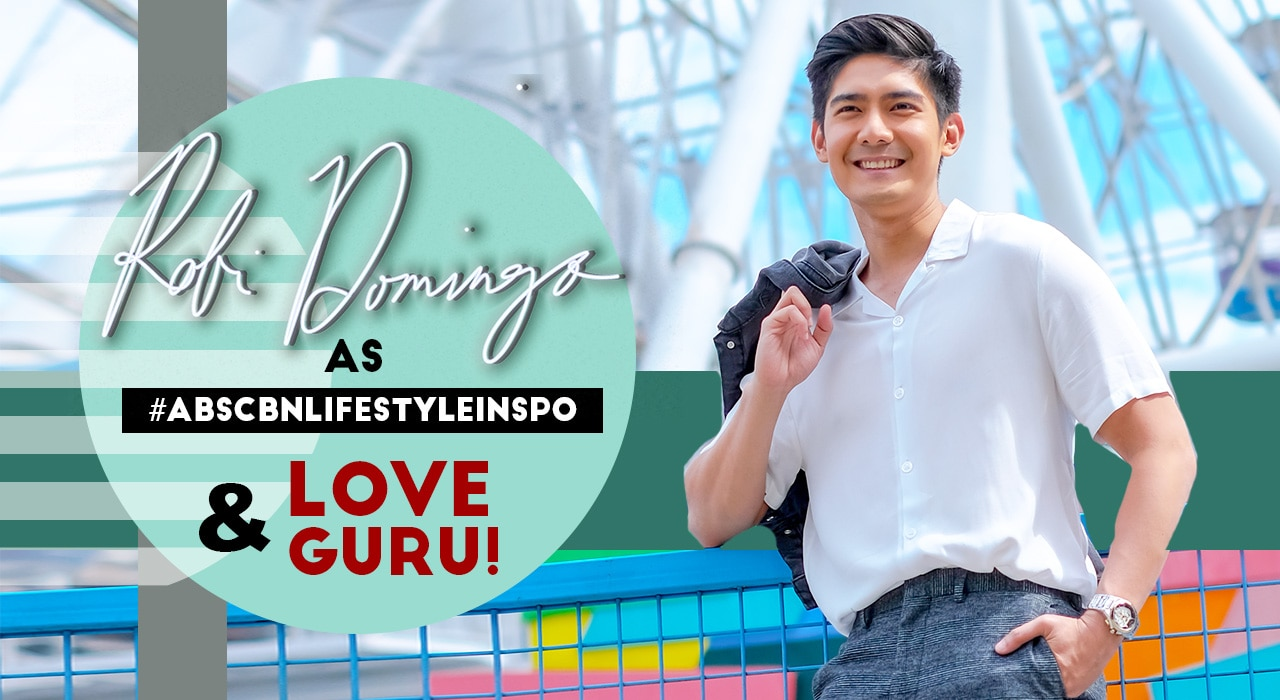Robi plays love guru on ABS-CBN Lifestyle