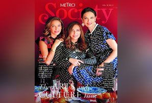 Natalia and Bianca Zobel, Maria Parsons grace the cover of Metro Society's arts and culture issue