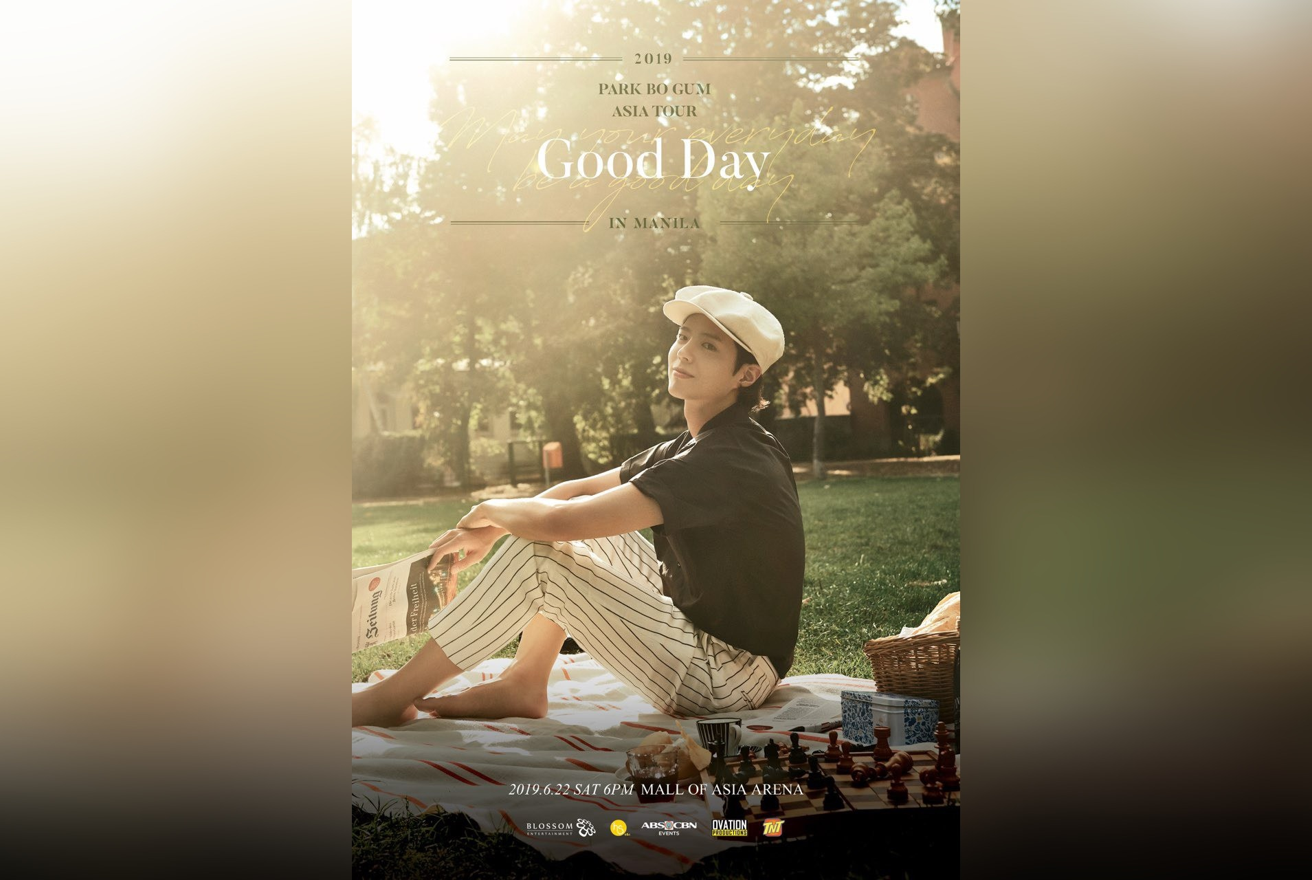 Park Bo Gum encounters Pinoy fans on Saturday