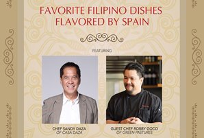 Chefs Sandy Daza and Robby Goco topbill 1st Metro Kitchen Series