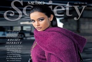Kelsey Merritt graces Metro Society's anniversary issue