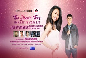 "Maymay takes ""The Dream Tour"" to Baguio and Cebu"