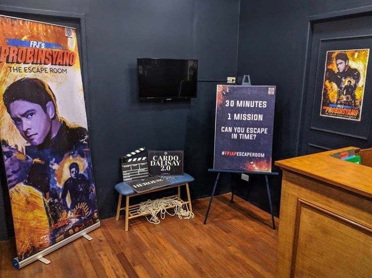 """Outwit the  """"FPJ's Ang Probinsyano"""" Escape Room at Left Behind PH"""