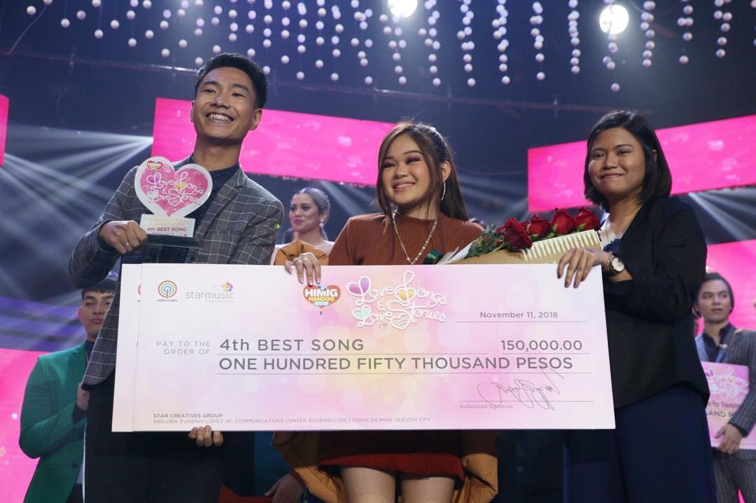 4th Best Song Mas Mabuti Pa by Mhonver Lopez and Joana Concepcion, interpreted by Janine Berdin
